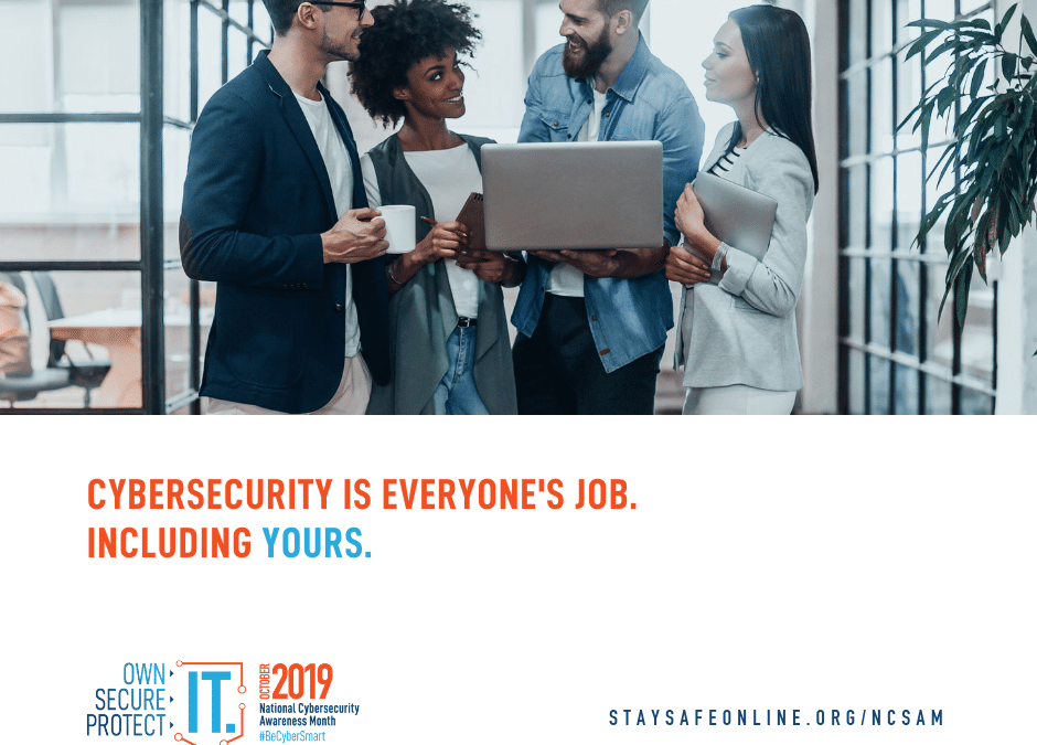2019 Cybersecurity Awareness Month
