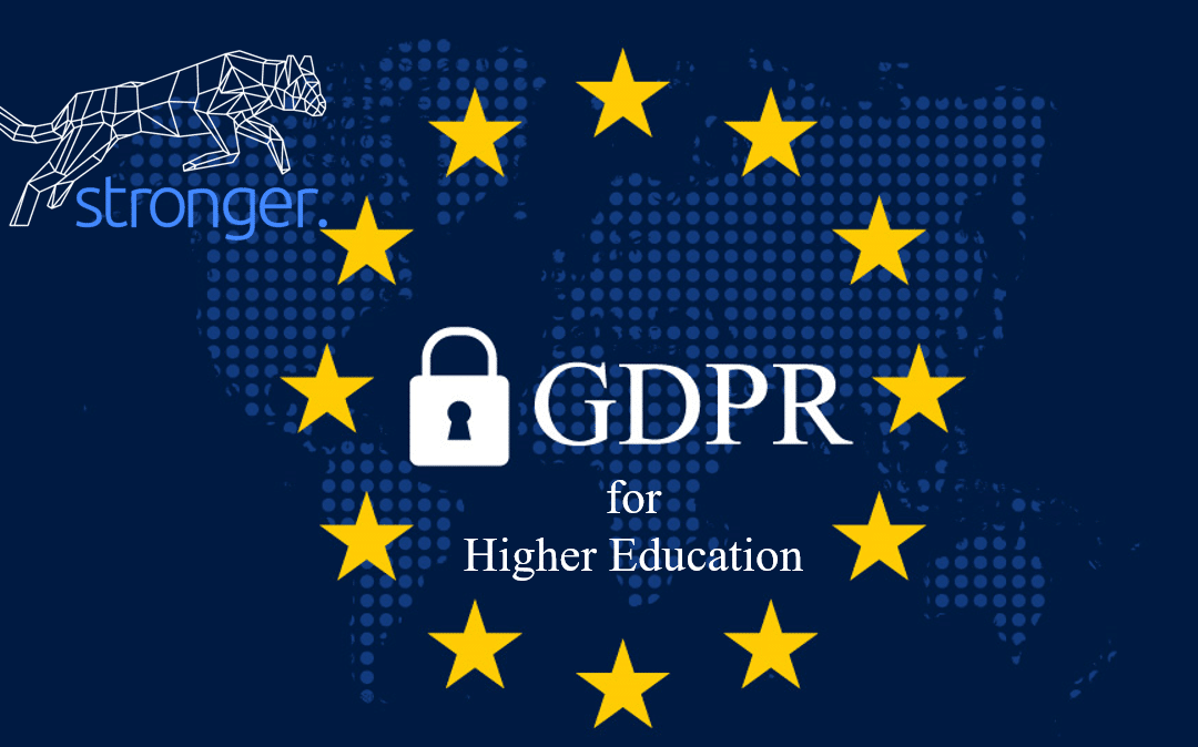 Higher Education: GDPR Applies to You – PART 2