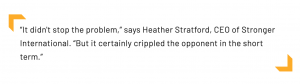 Heather Stratford quoted Oct 2020