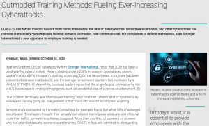 Outmoded Training Methods Fueling Ever-Increasing Cyberattacks