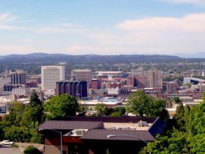 Spokane, WA from the South Hill