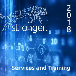 2018 Stronger Cybersecurity Service and Training Catalog