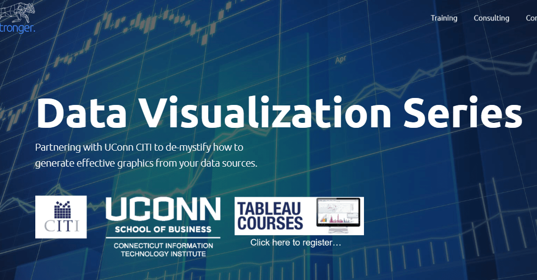 Tableau Classes offered at UCONN's School of Business